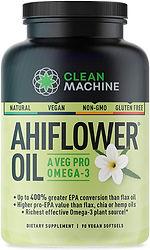 Clean Machine AhiFlower Omega Oil