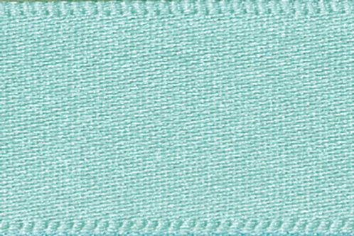 Ribbon Double Satin - 7mm Aqua