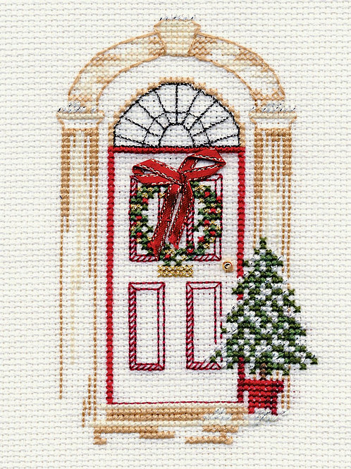 Christmas Card – Christmas Door