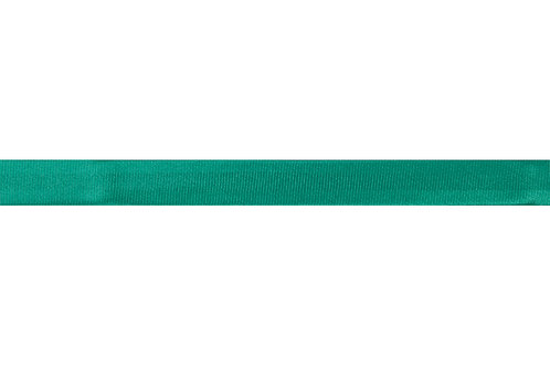 Bias Binding - 15mm Green Satin