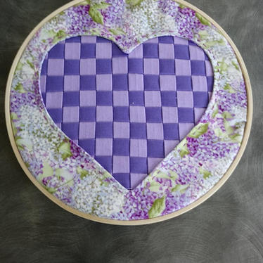 Quilted Hearts by Sue
