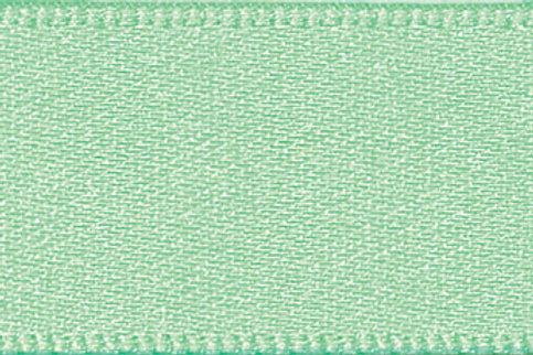 Ribbon Double Satin - 15mm Mint Green