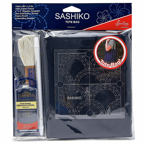 Sashiko: Tote Bag Kit