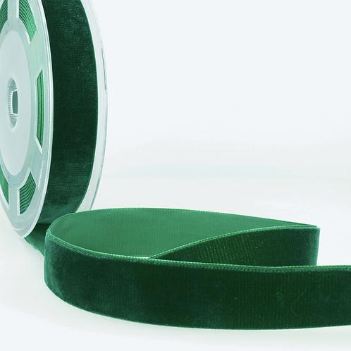 Ribbon: Velvet: Bottle Green