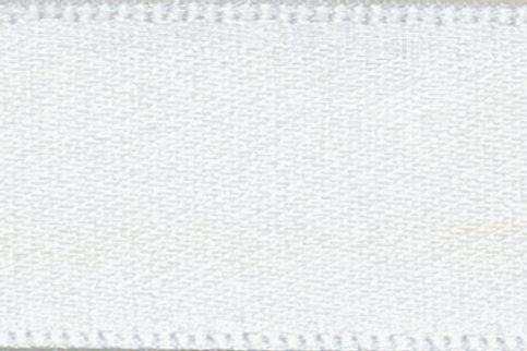 Ribbon Double Satin - 25mm White