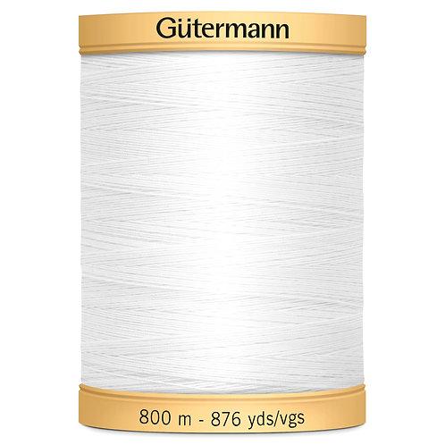 Gutermann Natural - 5709 - White