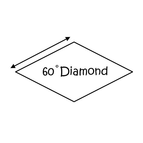 "60 Degree Diamonds (1"")"