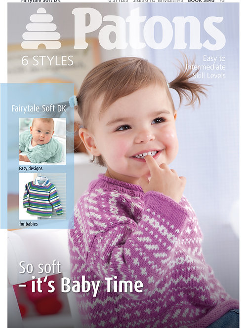 Patons Pattern Book Baby - 3843