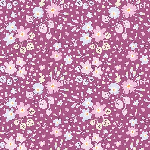 Plum Garden - Flower Confett Plum
