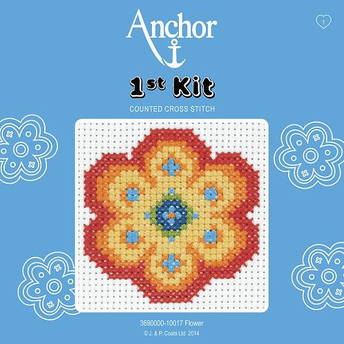 Cross Stitch - Anchor 1st Kit - Flower