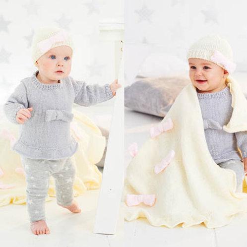Stardust Hat, Top & Blanket - 9526