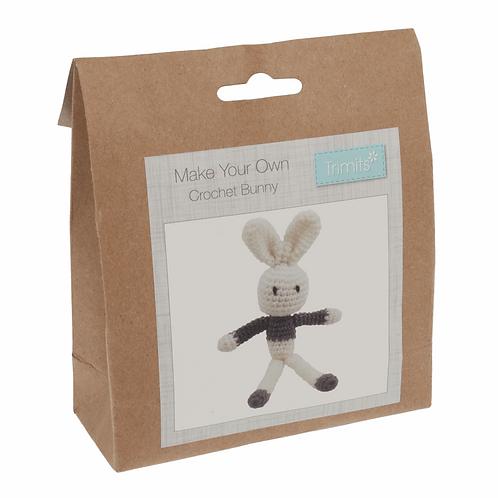 Crochet Kit: Bunny: Grey