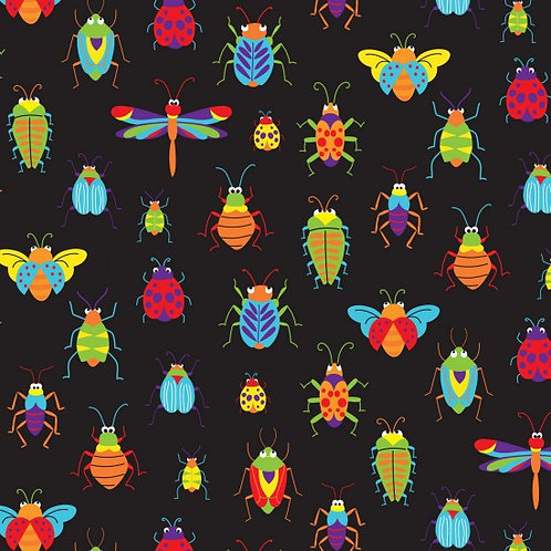 Bugs & Critters - Allover - 89610 101