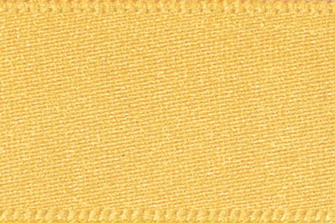 Ribbon Double Satin - 25mm Gold