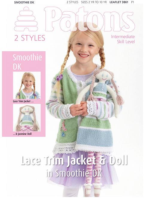 Patons Pattern Leaflet Girls & Doll - 3861
