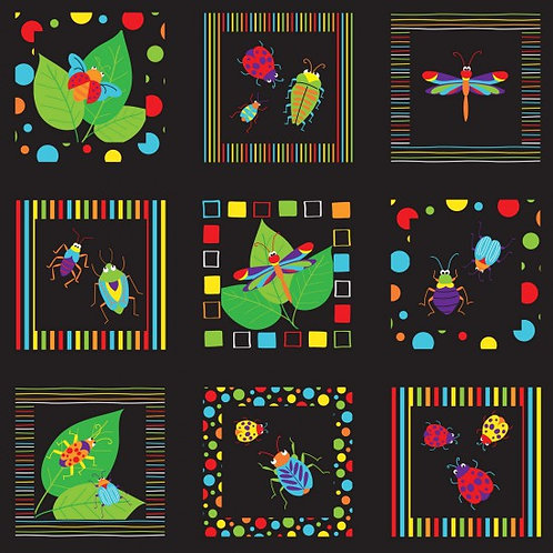 Bugs & Critters - Squares - 89610 105