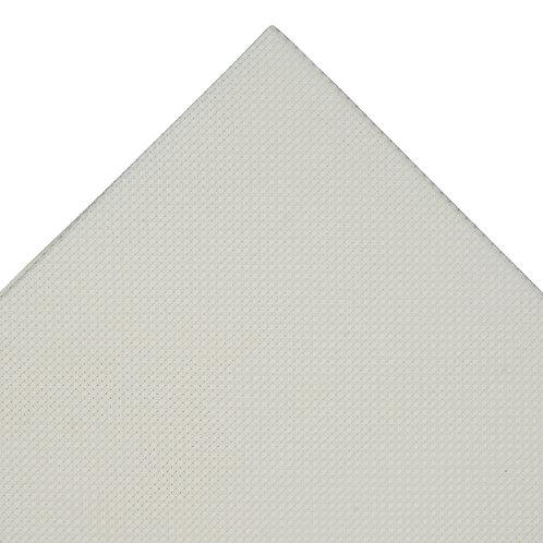 Aida Needlecraft Fabric: 30 x 45cm: 14 Count: Cream