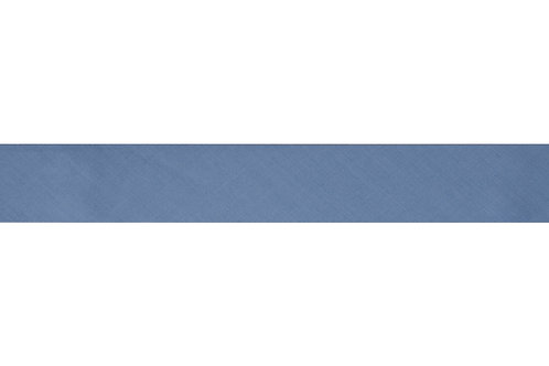 Bias Binding - 25mm Grey Blue