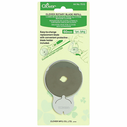 Rotary Blade: Refill Pack: 60mm x 1 (Clover)