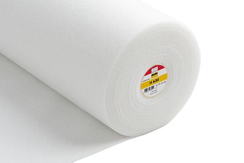 Low Loft Volume Fleece Iron-On White (H630)