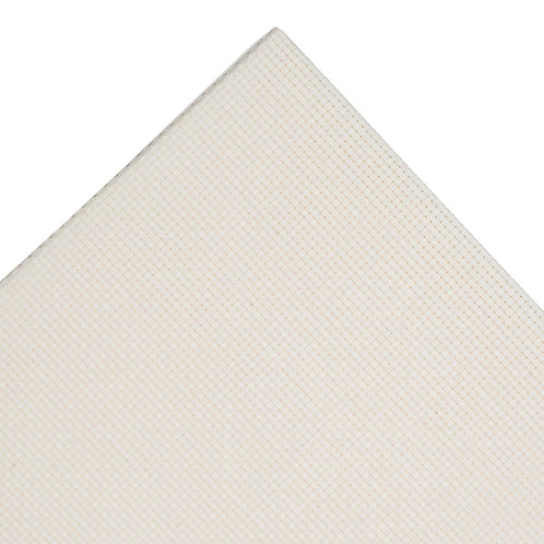 Aida Needlecraft Fabric: 30 x 45cm: 16 Count: Cream