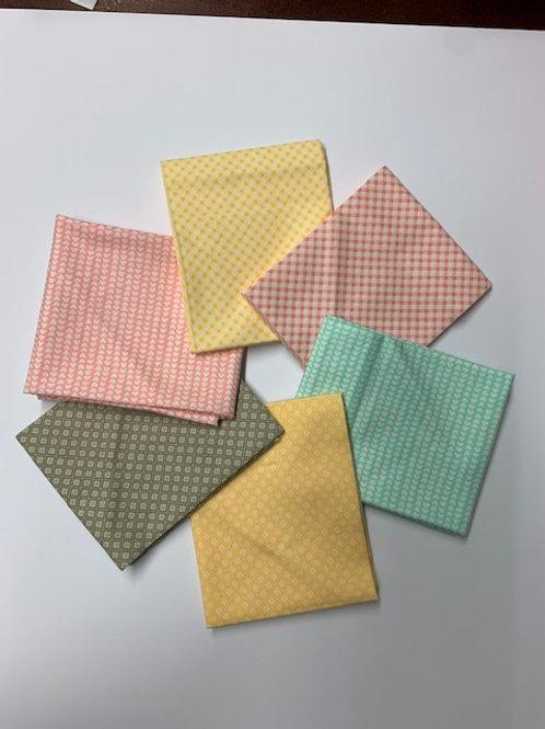 Pastel Colours - Fat 1/4 Bundle
