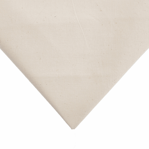Calico: Unbleached: 50in / 127cm