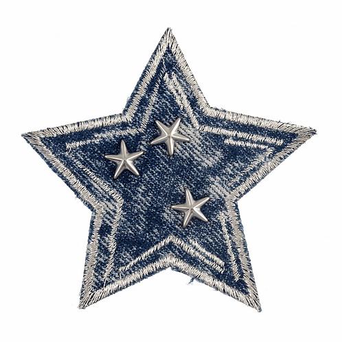 Motif C: Studded Denim Star