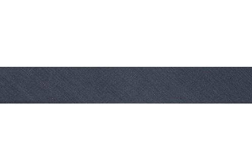 Bias Binding - 25mm Slate Grey