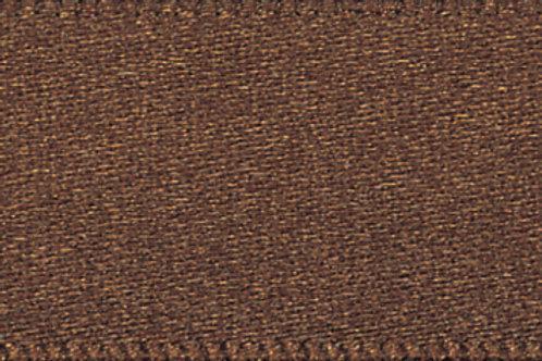 Ribbon Double Satin - 10mm Brown