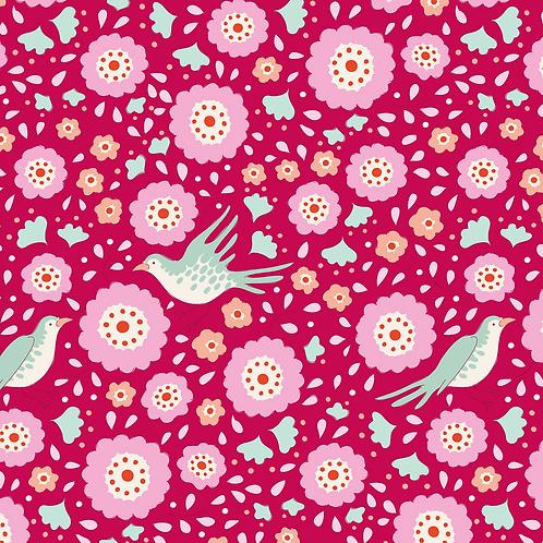BirdPond - Lovebirds Raspberry