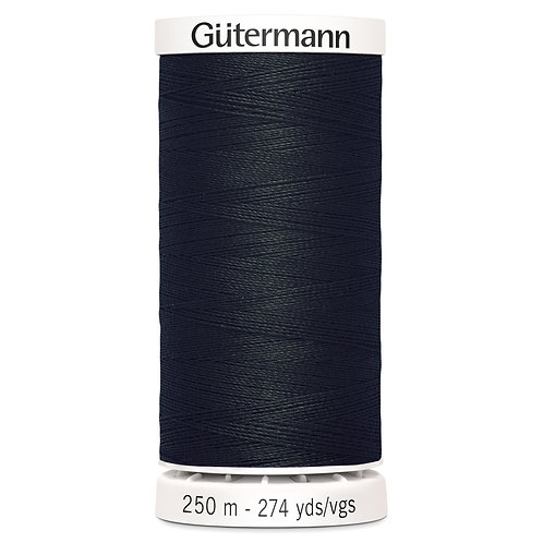 Gutermann Sew All (250m) - Black 000