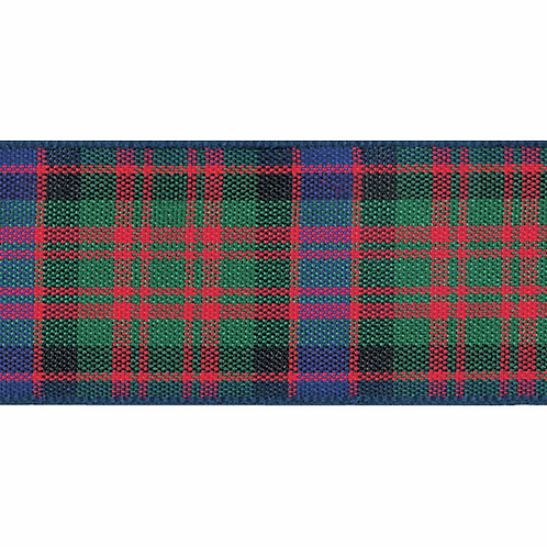 Ribbon Woven Tartan - MacDonald 10mm