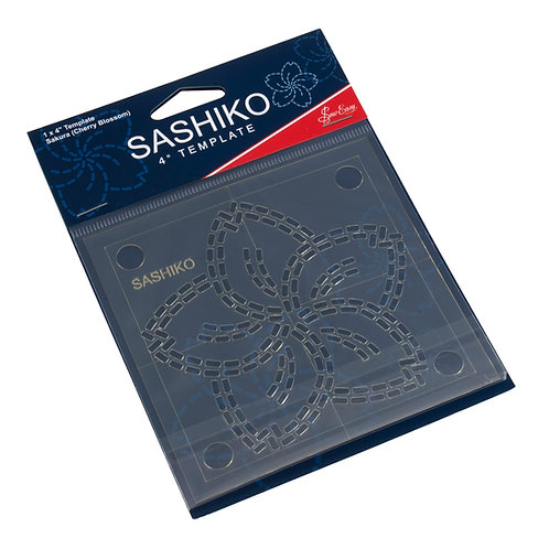 """Sashiko - Cherry Blossom 4"""" Templates"""