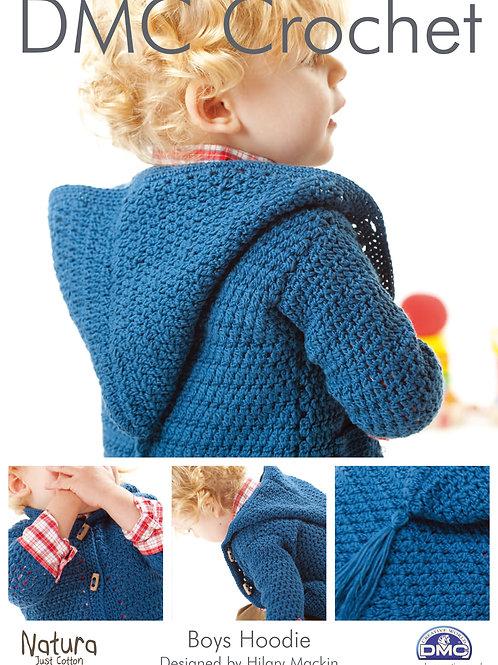 DMC Crochet Pattern: Boys Hoodie
