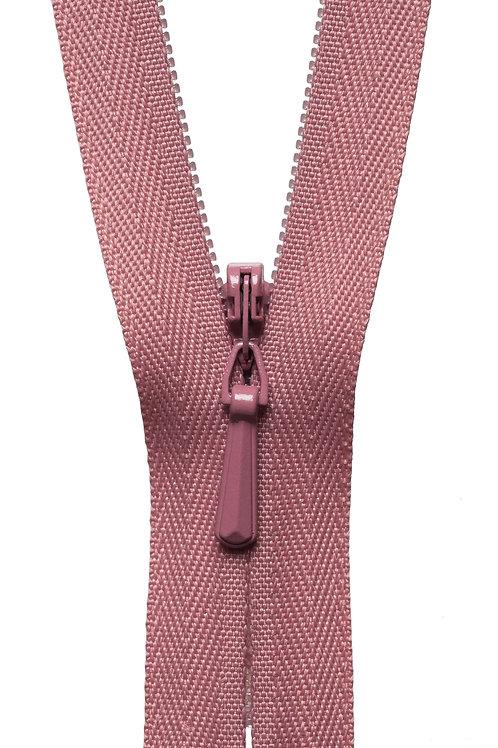 Concealed Zip: 41cm: Dusky Pink