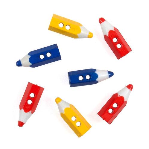 Pencil Buttons