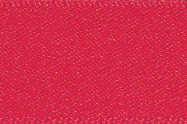 Ribbon Double Satin - 7mm Poppy Red