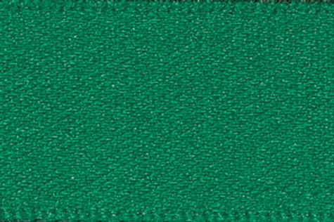 Ribbon Double Satin - 25mm Hunter Green