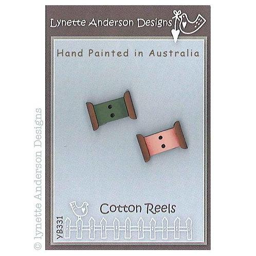 Cotton Reel Button Pack