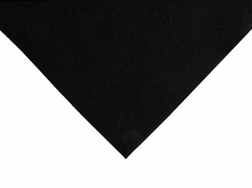 Felt Wool: Squares: 30 x 30cm: Black