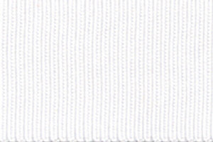 Grosgrain - White - 10mm