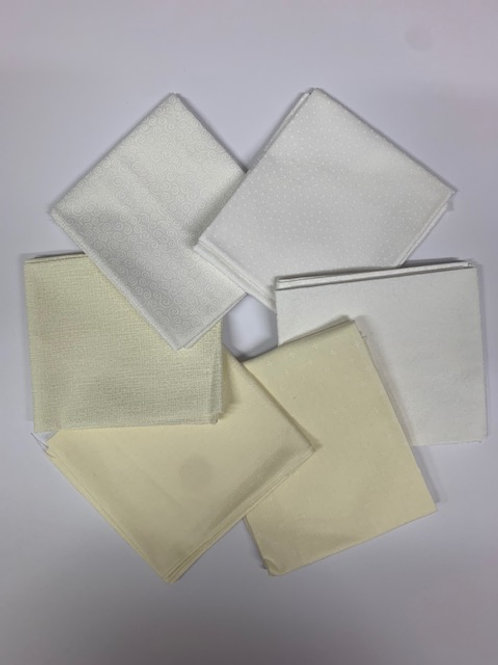 Whites & Creams - Fat 1/4 Bundle