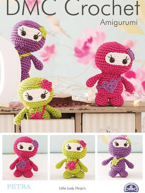 DMC Crochet Pattern: Little Lady Ninja's