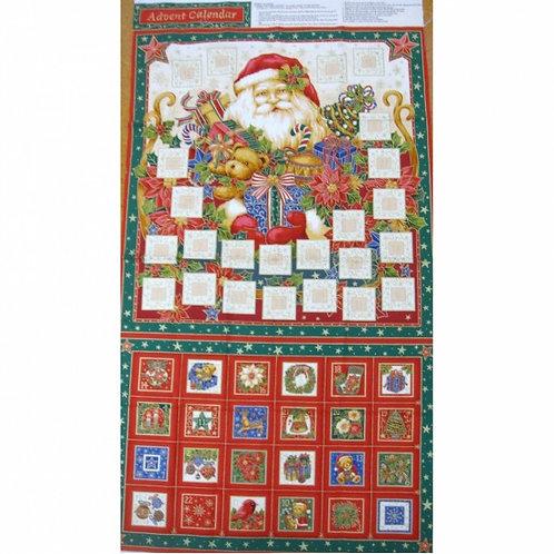 Traditional Christmas Advent Calendar - 86440