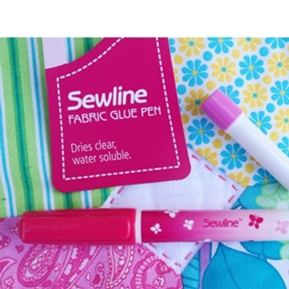 Sewline Glue Pen - Water Soluble with Blue Refill