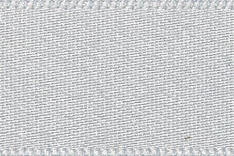 Double Faced Satin: Silver Grey
