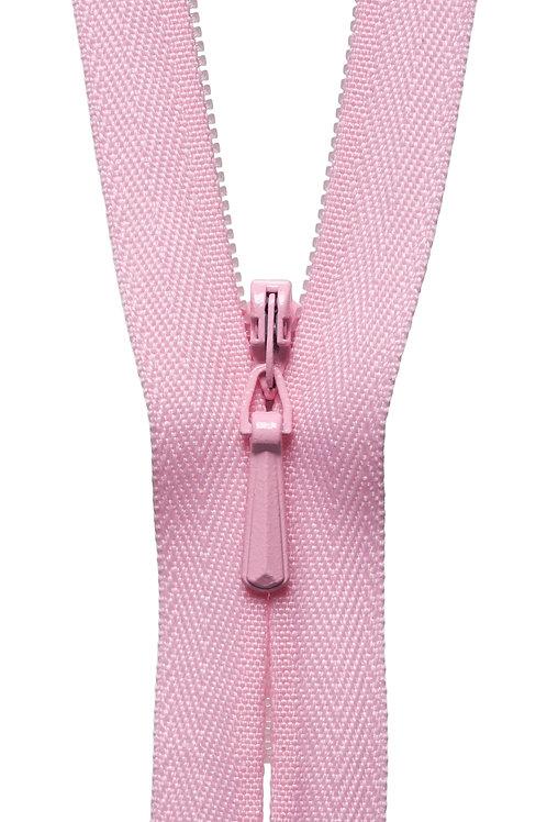 Concealed Zip: 41cm: Mid Pink