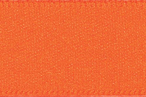 Ribbon Double Satin - 10mm Orange Delight