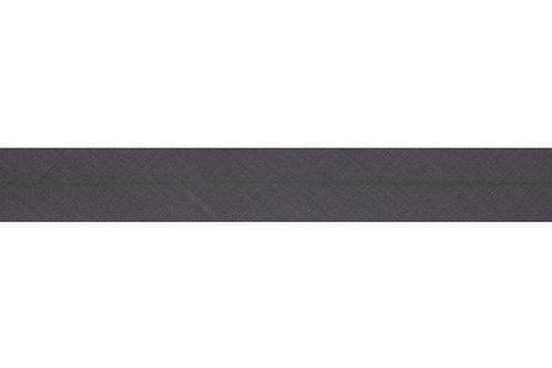 Bias Binding - 25mm Silver Grey